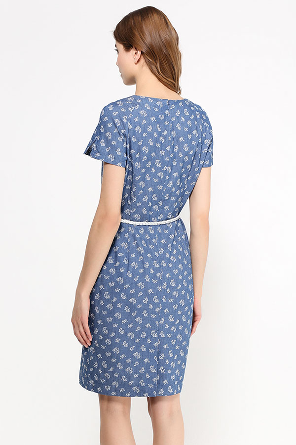 Finn Flare | синий Платье женское | Clouty