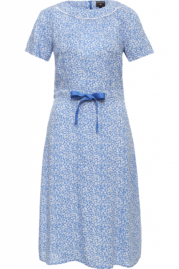 Finn Flare   синий Платье женское   Clouty