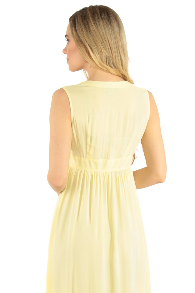 Finn Flare | светлый лимонный Платье женское | Clouty