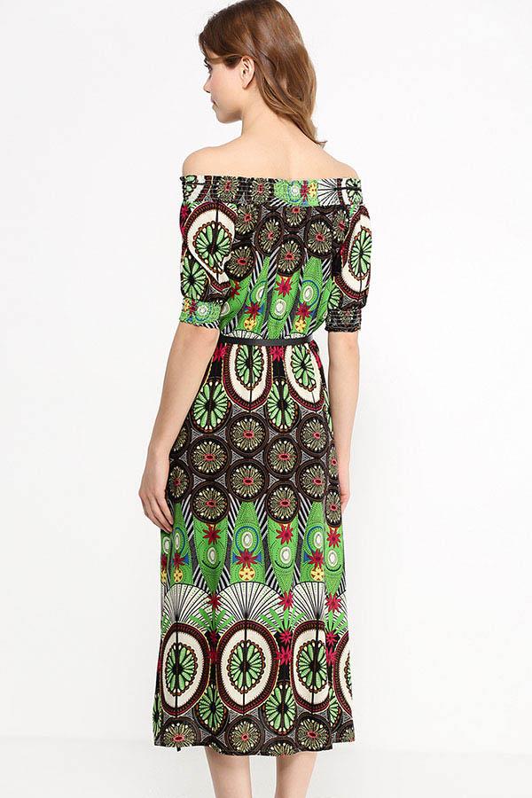 Finn Flare | светло-зеленый Платье женское | Clouty