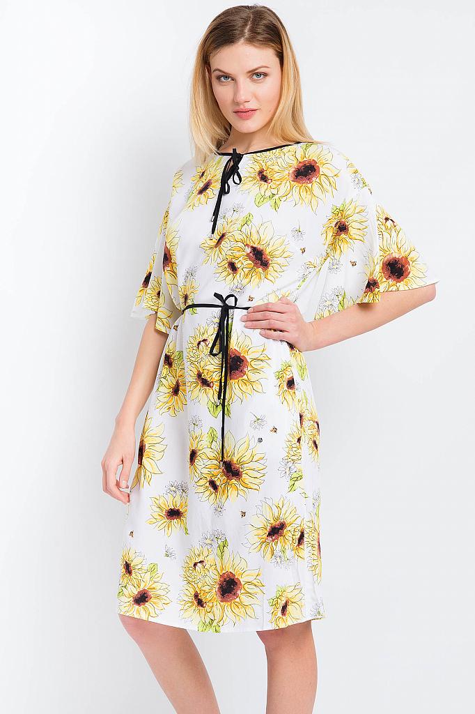 Finn Flare | белый Платье женское | Clouty