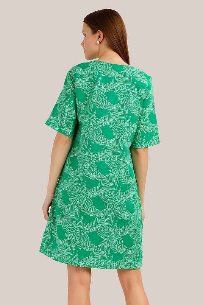 Finn Flare | green Платье женское | Clouty