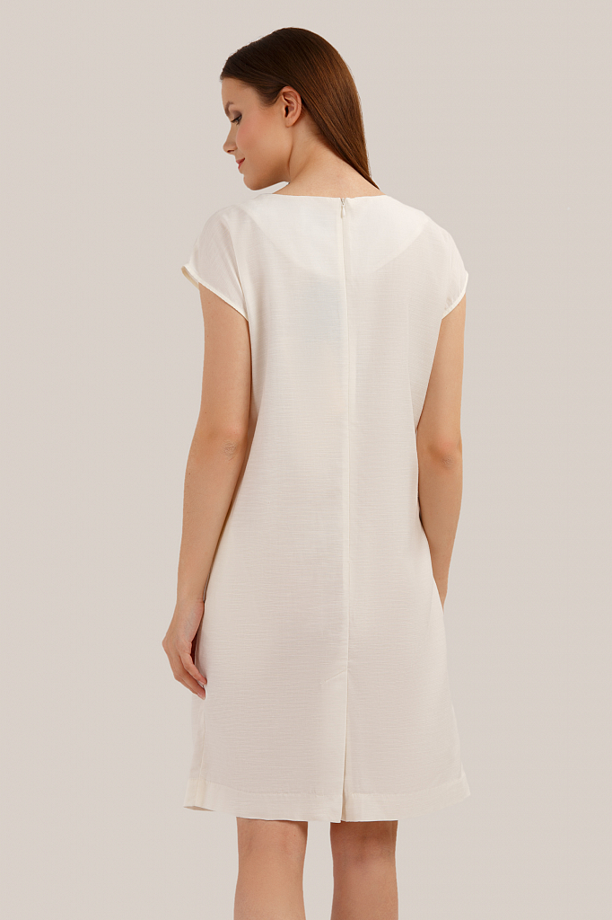 Finn Flare | молочный Платье женское | Clouty