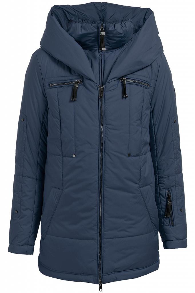 Finn Flare   темно-синий Куртка женская   Clouty