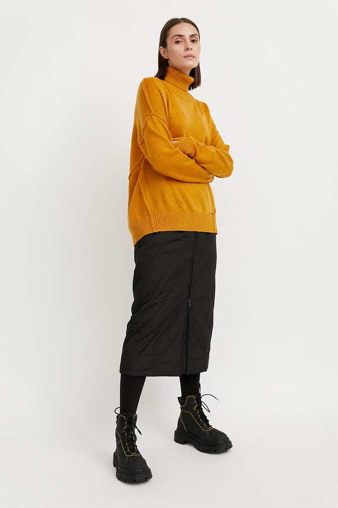 Finn Flare | желтый Джемпер женский | Clouty