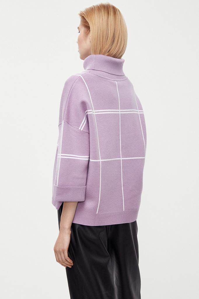 Finn Flare | розовый Джемпер женский | Clouty