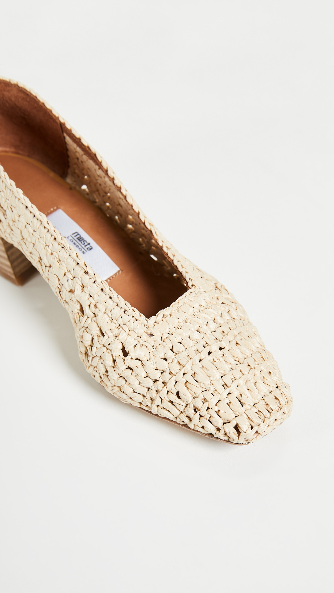 Miista | Miista Noa Woven Pumps | Clouty