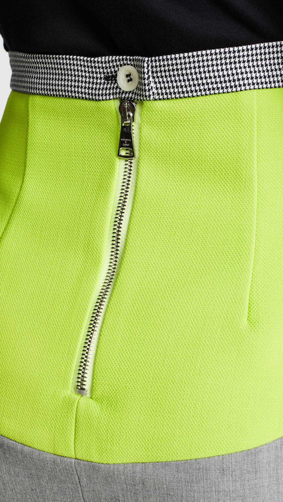 Natasha Zinko | Natasha Zinko Wool Blend Miniskirt | Clouty