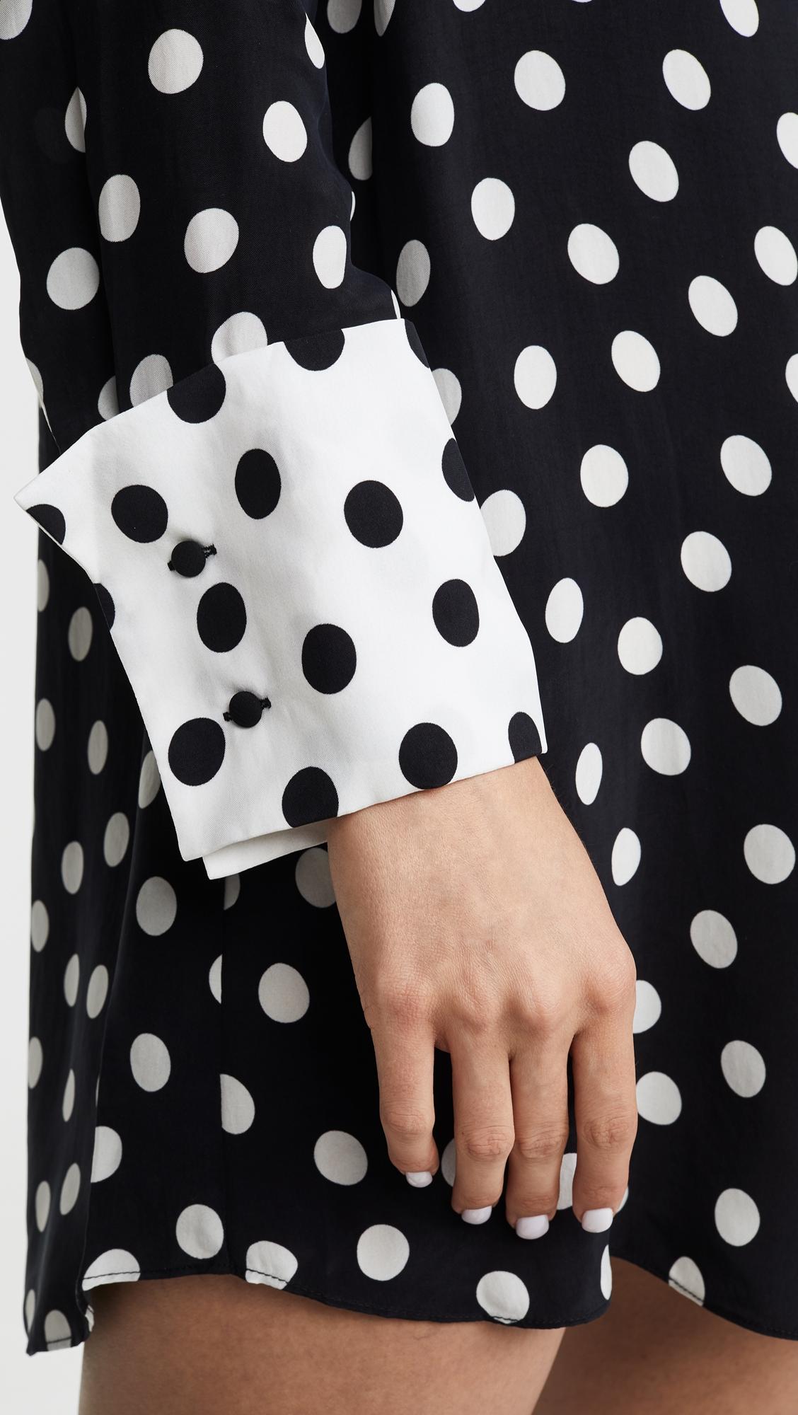 Alice + Olivia | alice + olivia Halima French Cuff Shirt Dress | Clouty
