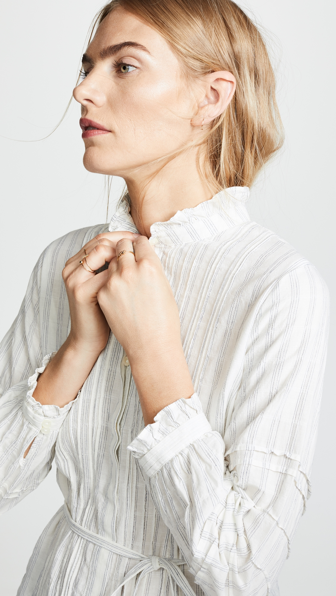 Birds of Paradis | Birds of Paradis The Robin Ruffle Sleeve Blouse | Clouty
