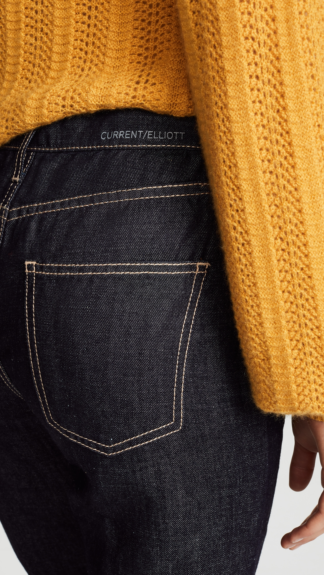 Current/Elliott | Current/Elliott The Vintage Cropped Slim Jeans | Clouty