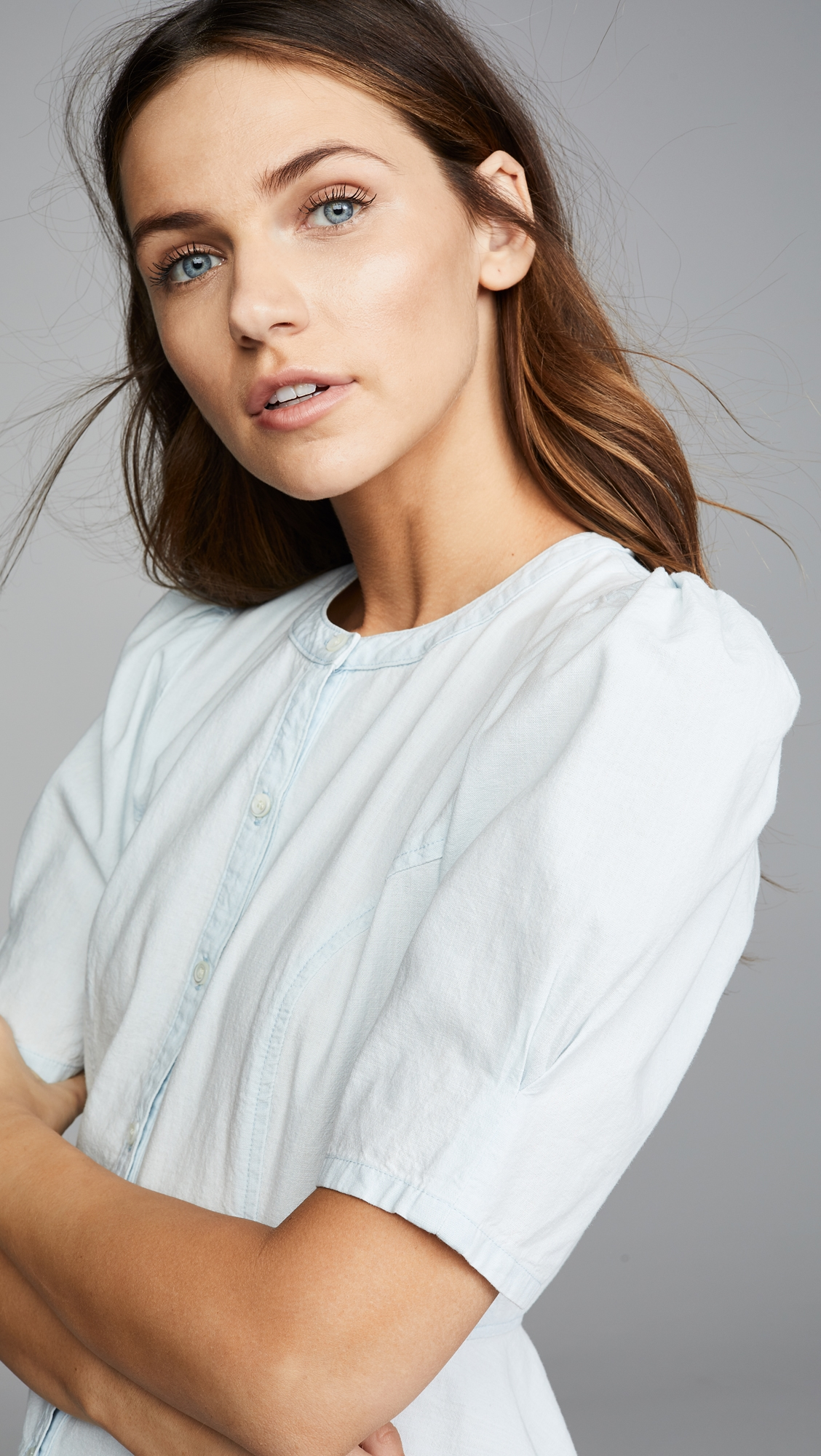 Citizens Of Humanity   Citizens of Humanity Fran Puff Sleeve Blouse   Clouty