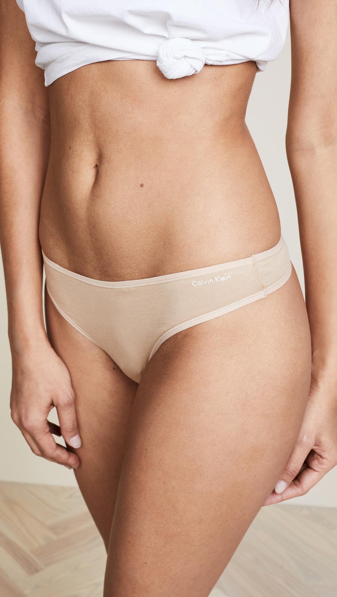 Calvin Klein   Calvin Klein Underwear Form 5 Pack of Thongs   Clouty
