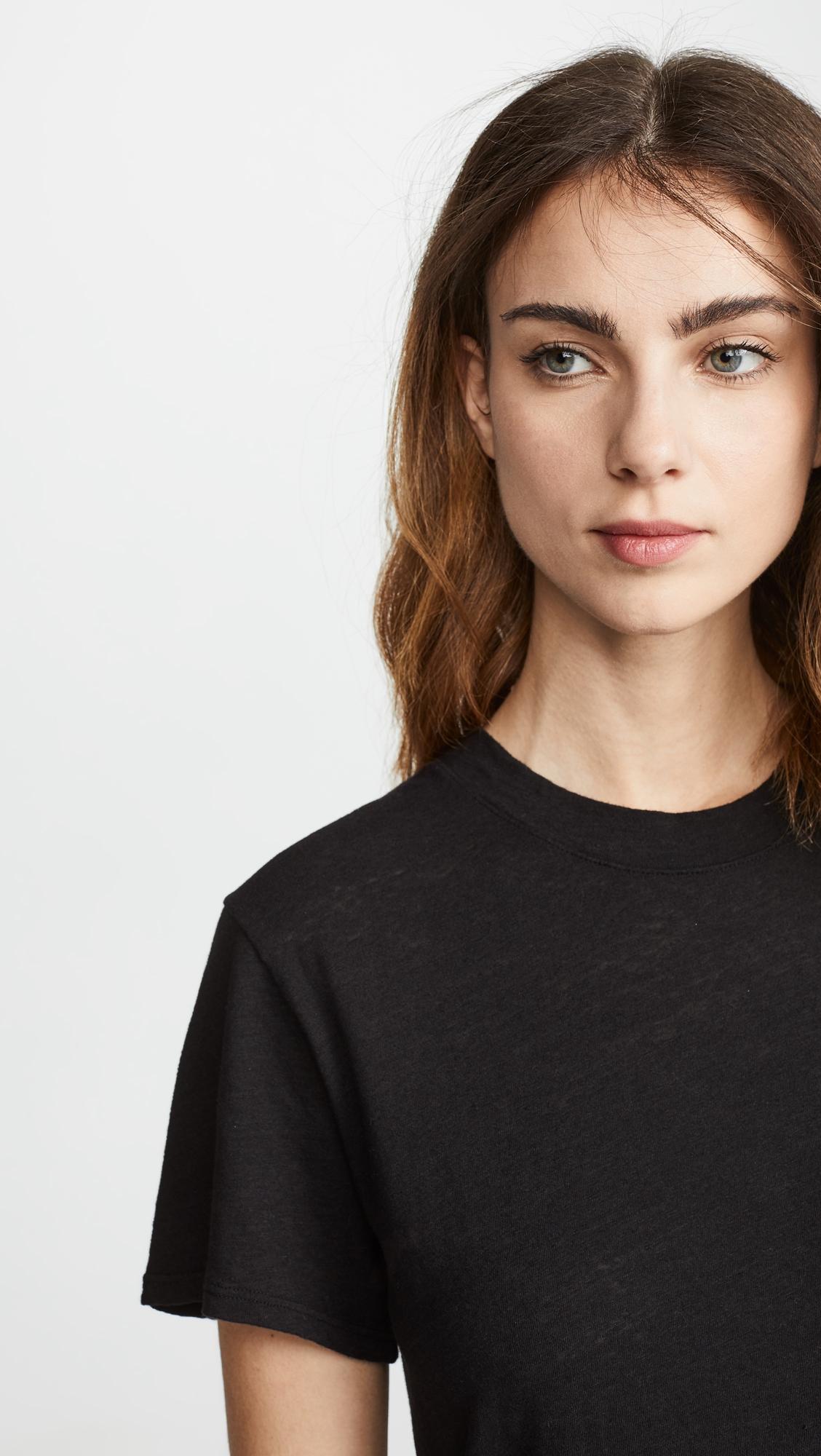 Enza Costa | Enza Costa Slubbed T-Shirt Dress | Clouty