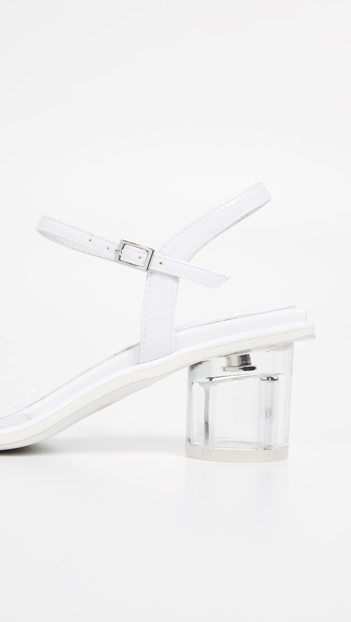 JEFFREY CAMPBELL | Jeffrey Campbell Futuro Vinyl Sandals | Clouty