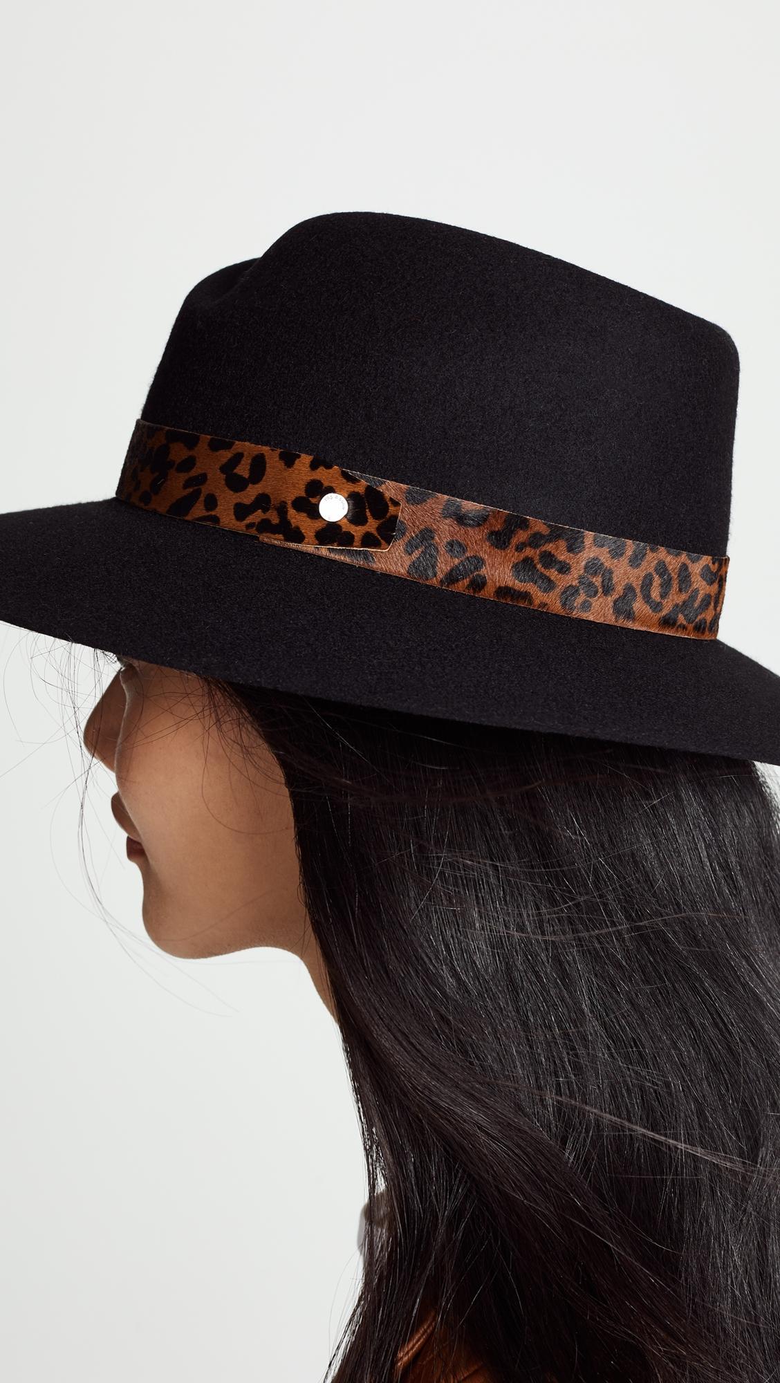 RAG & BONE | Rag & Bone Zoe Fedora Hat | Clouty
