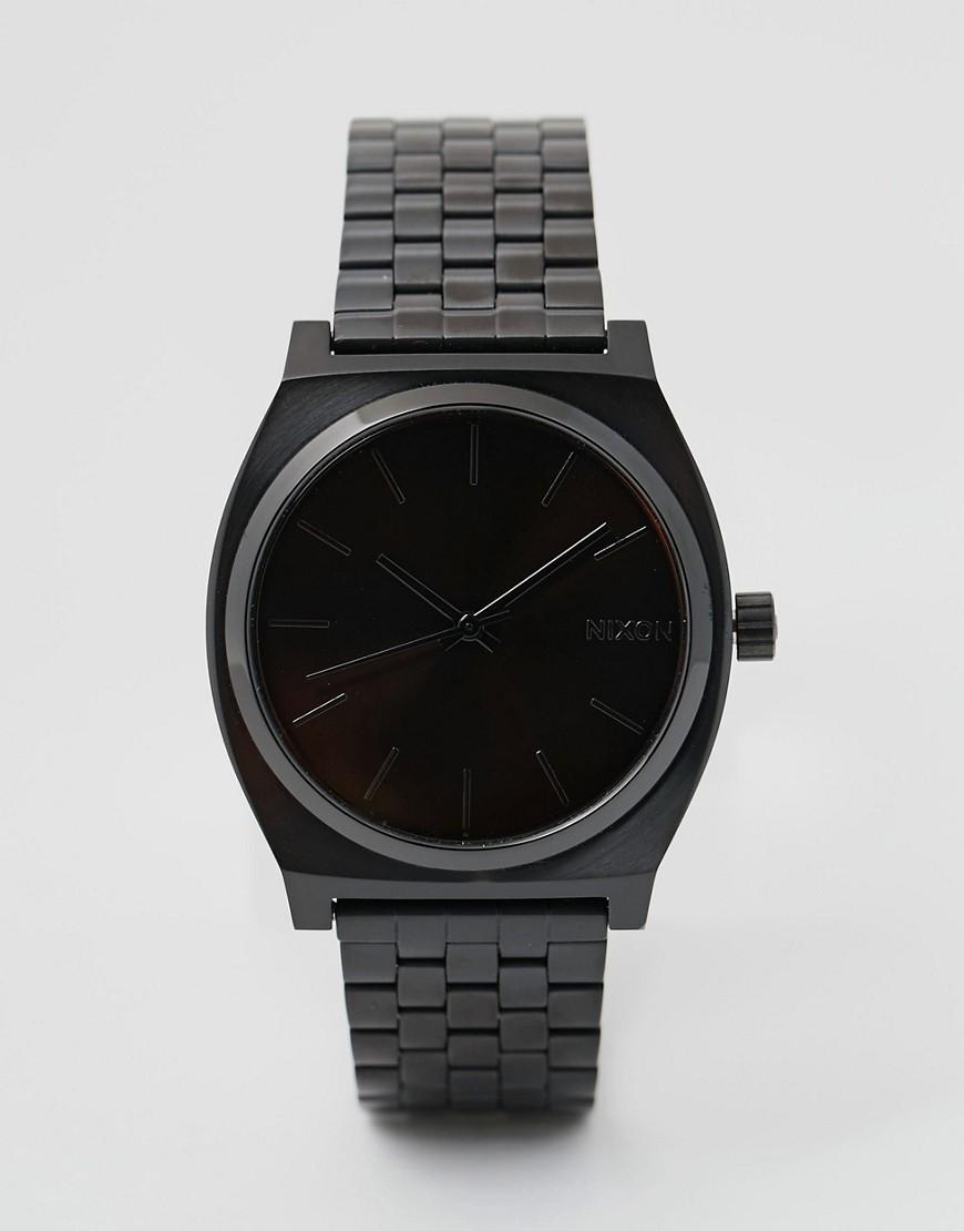 Nixon | Часы Nixon Time Teller А045-Черный | Clouty