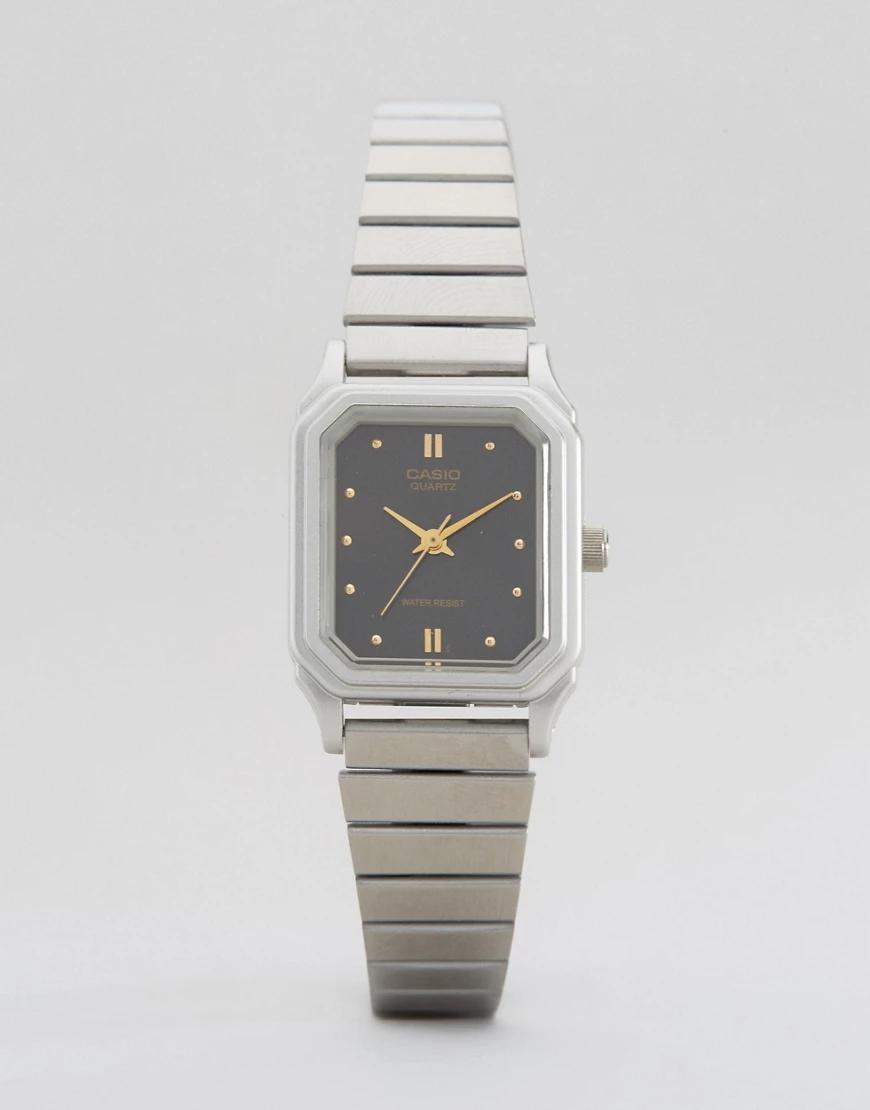 Casio | Часы в винтажном стиле Casio LQ-400D-1AEF-Серебряный | Clouty