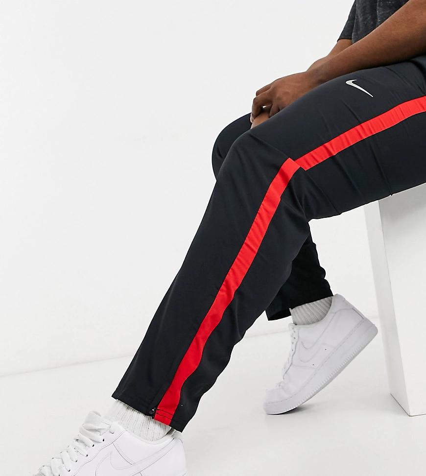 NIKE | Черные тканые джоггеры Nike Running Рlиs-Черный цвет | Clouty