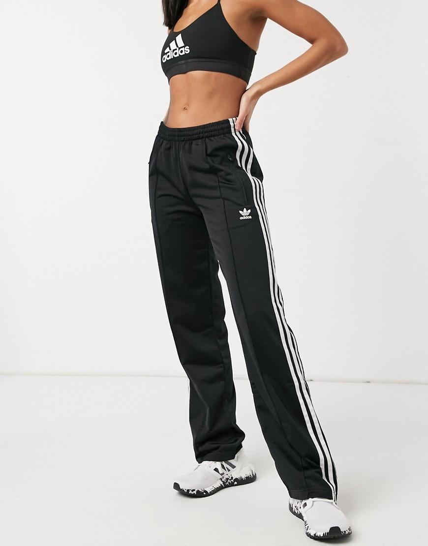 adidas Originals | Черные брюки adidas Originals Firebird-Чepный цвет | Clouty