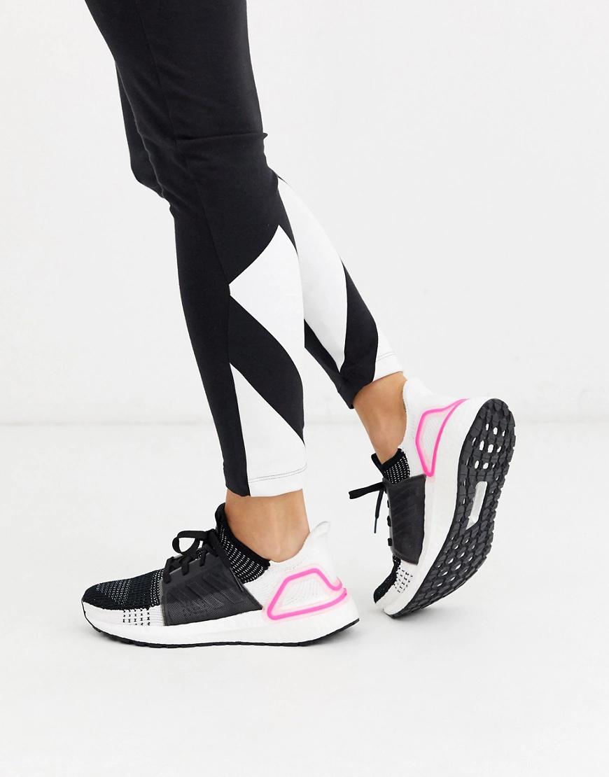 adidas   Черные кроссовки adidas Running Ultraboost 19-Черный   Clouty