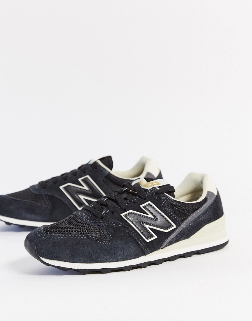 New Balance | Черные кроссовки New Balance 996-Черный | Clouty