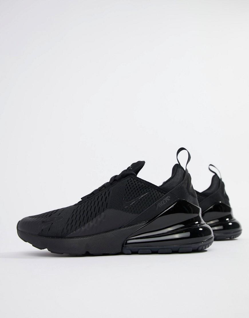 NIKE | Черные кроссовки Nike Air Max 270 АН8050-005-Черный | Clouty