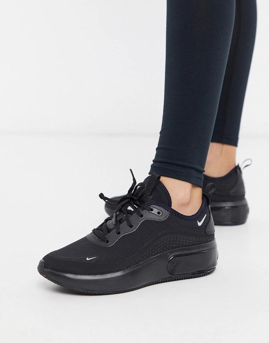 NIKE | Черные кроссовки Nike Air Max Diа-Черный | Clouty