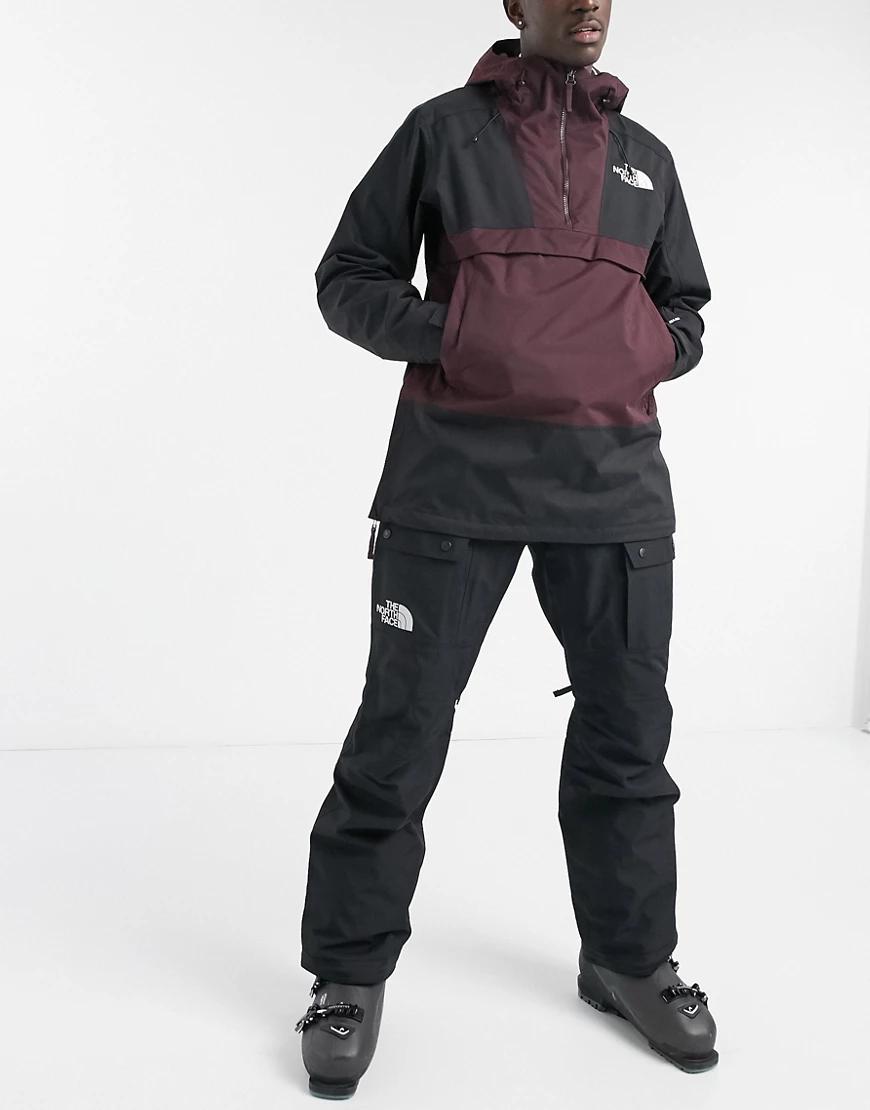 The North Face | Черные лыжные брюки-карго The North Face Slashback-Чepный | Clouty