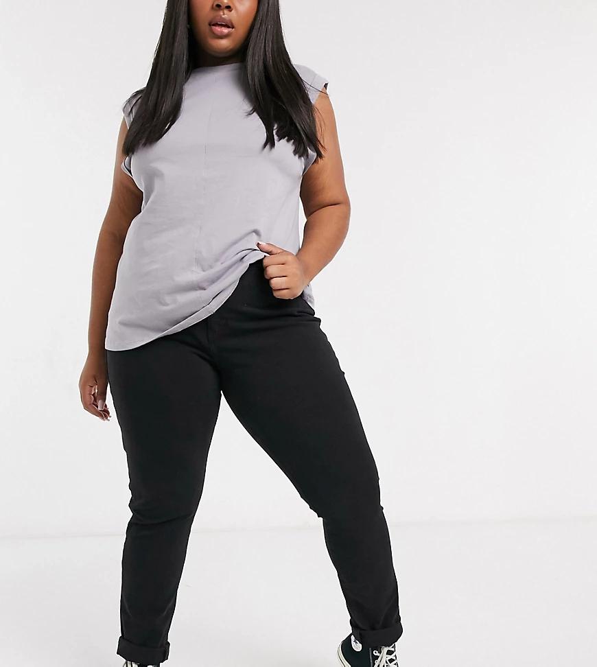 Levi's | Черные моделирующие джинсы скинни Levi's Plus 311-Черный | Clouty