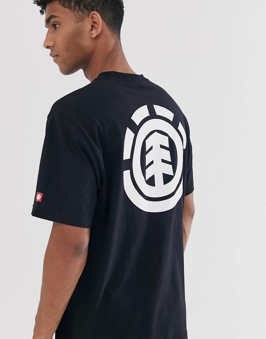 Element | Черная футболка Element-Чepный | Clouty