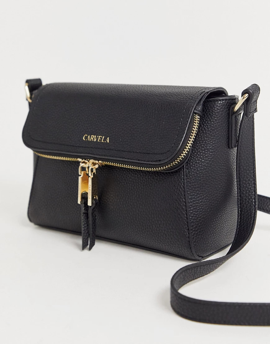 Carvela | Черная сумка Carvela Fоlа-Черный | Clouty