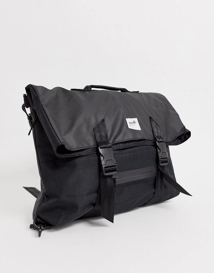 Boxfresh | Черная сумка через плечо Boxfresh-Чepный | Clouty
