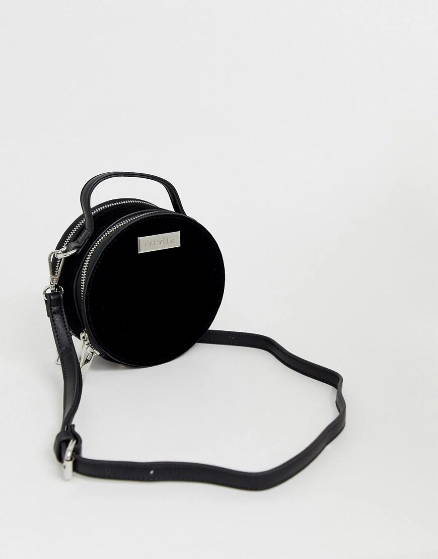 Carvela | Черная сумка через плечо Carvela - Clemmie-Чepный | Clouty