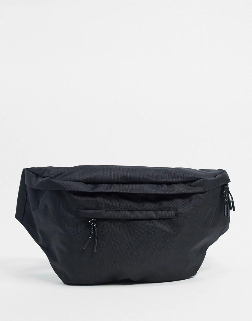 Pieces | Черная сумка-кошелек на поясPieces-Черный | Clouty