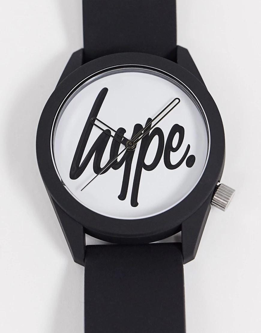 Hype | Черно-белые наручные часы Нуре-Черный | Clouty