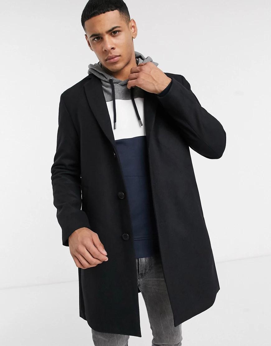 Esprit | Черное пальто Esprit-Черный | Clouty