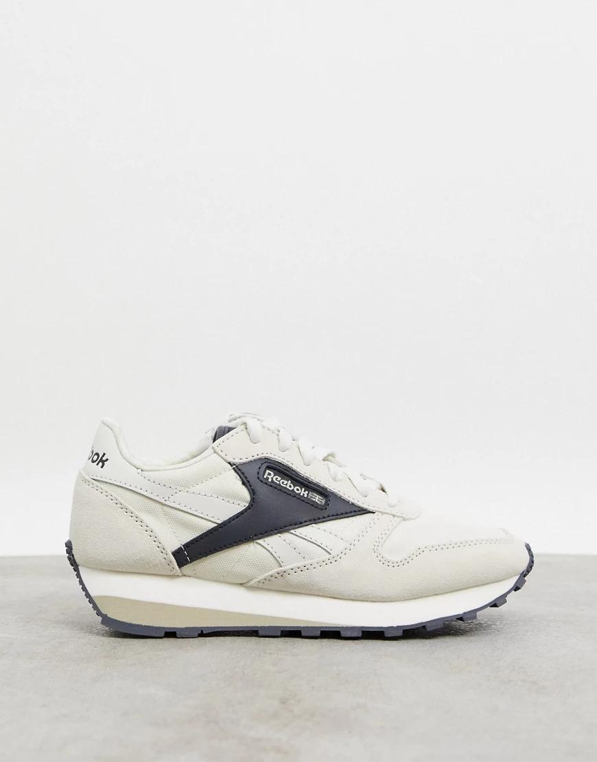 REEBOK | Бежевые кожаные кроссовки Reebok Classic AZ-Neutral | Clouty