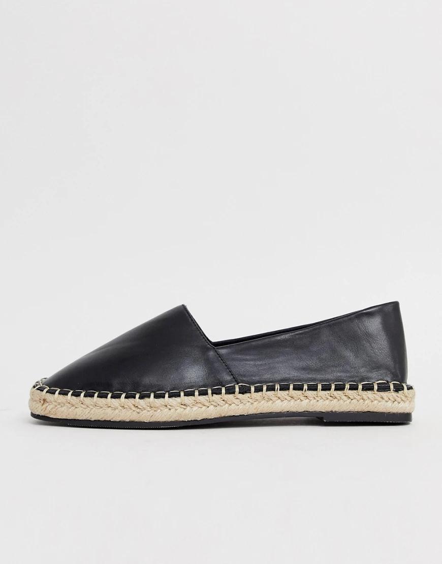 QUPID   Эспадрильи с квадратным носком Qирid-Черный   Clouty