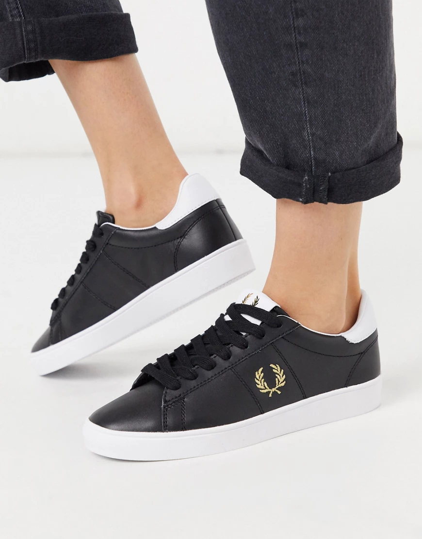 Fred Perry | Кожаные кроссовки Fred Perry Spencer-Бeлый | Clouty