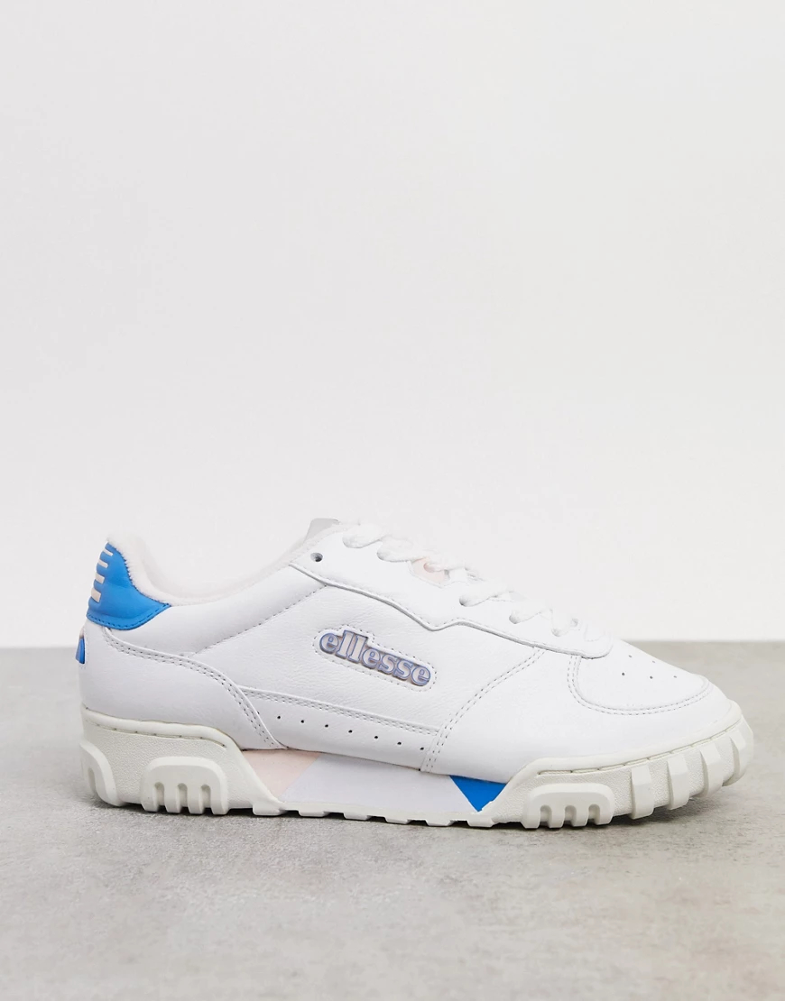 Ellesse | Кожаные кроссовки в стиле колор блокEllesseTanker-Мульти | Clouty