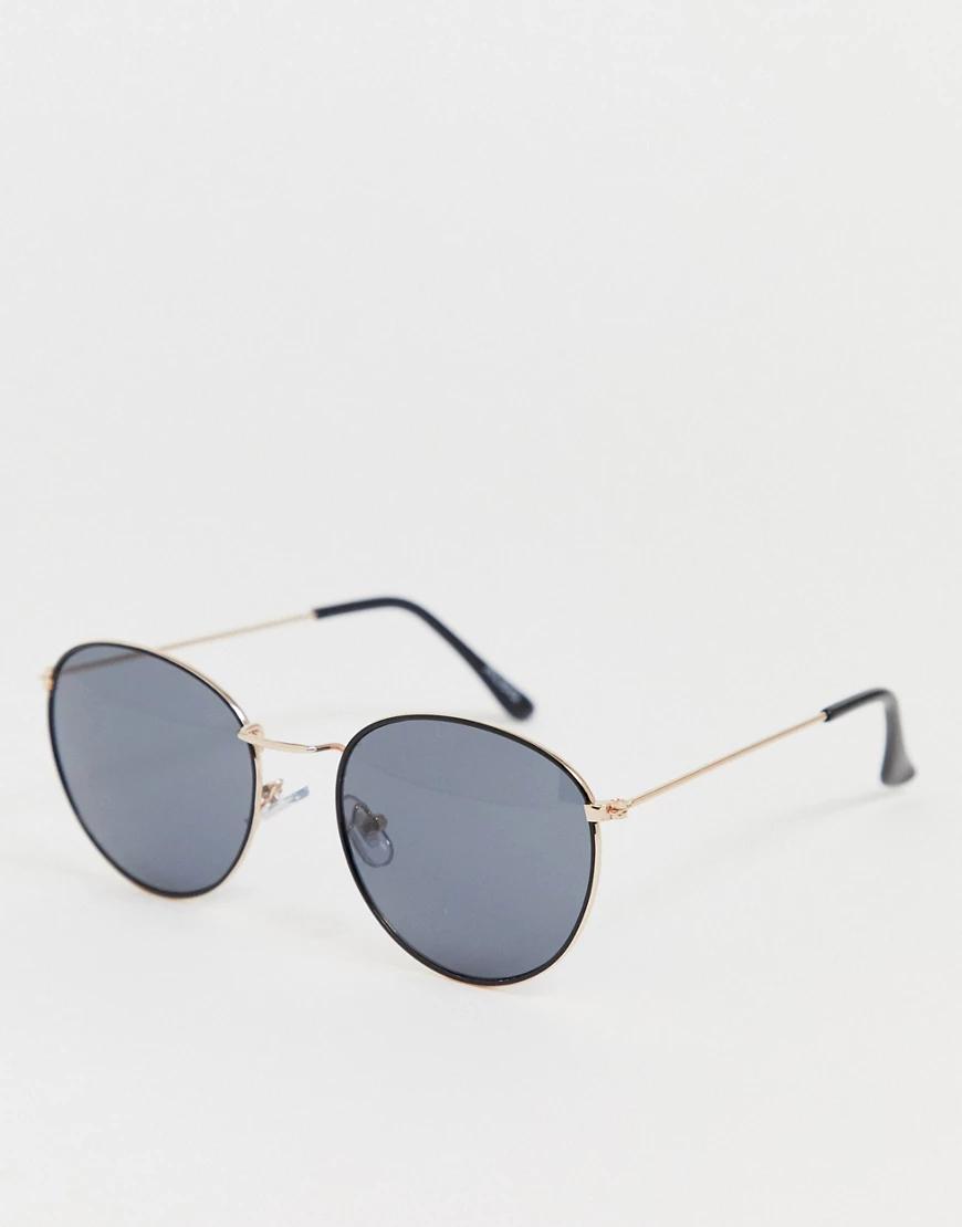 ALDO | Круглые солнцезащитные очки Аldо-Черный | Clouty