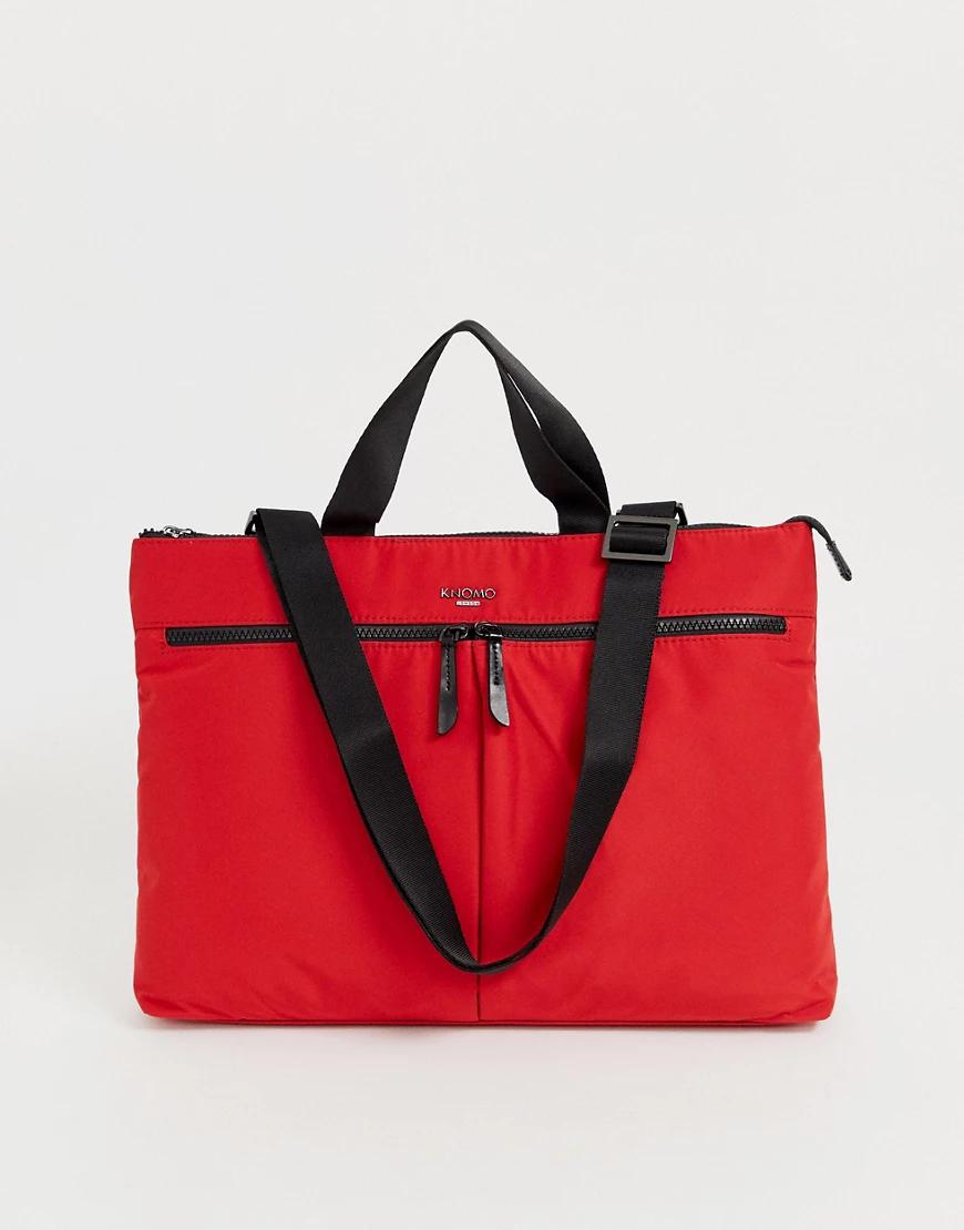 Knomo | Красная сумка Knomo Copenhagen 14-Красный | Clouty