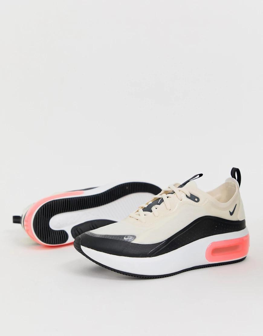 NIKE | Кремовые кроссовки Nike Air Max Diа-Фиолетовый | Clouty