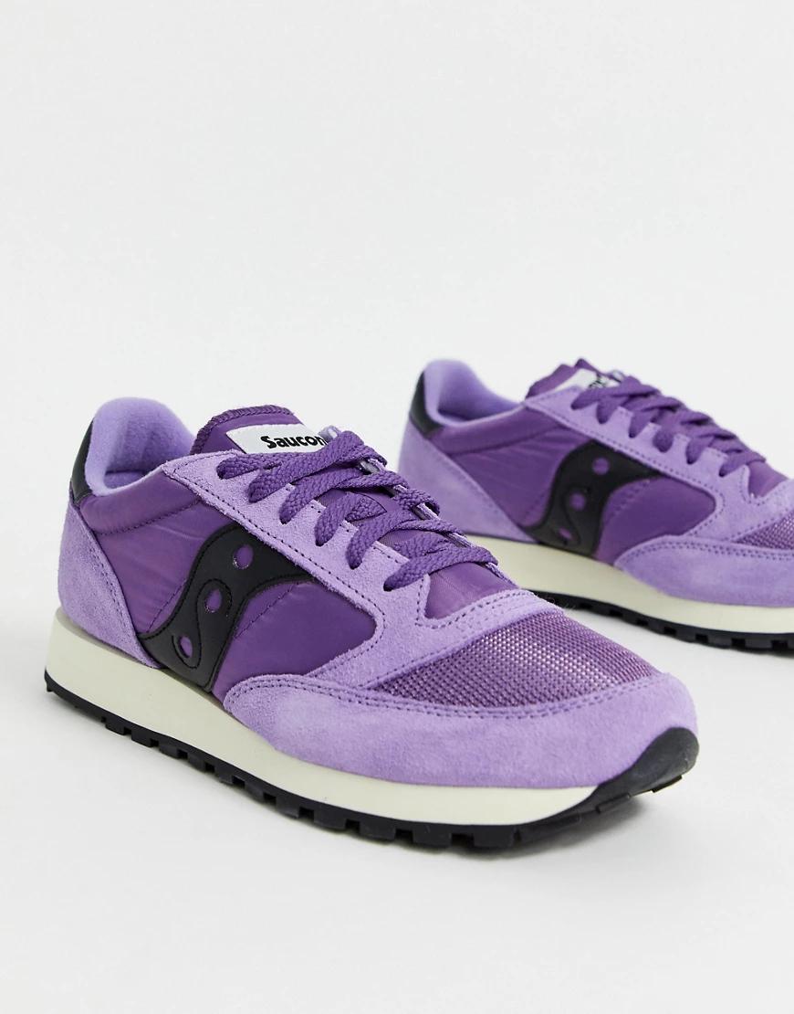 Saucony   Кроссовки Saucony Jаzz-Фиолетовый   Clouty
