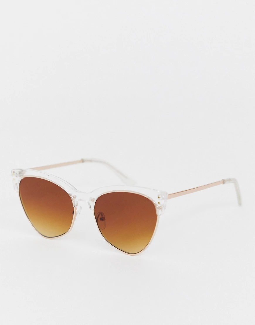 AJ Morgan | Квадратные солнцезащитные очки AJ Моrgап-Очистить | Clouty