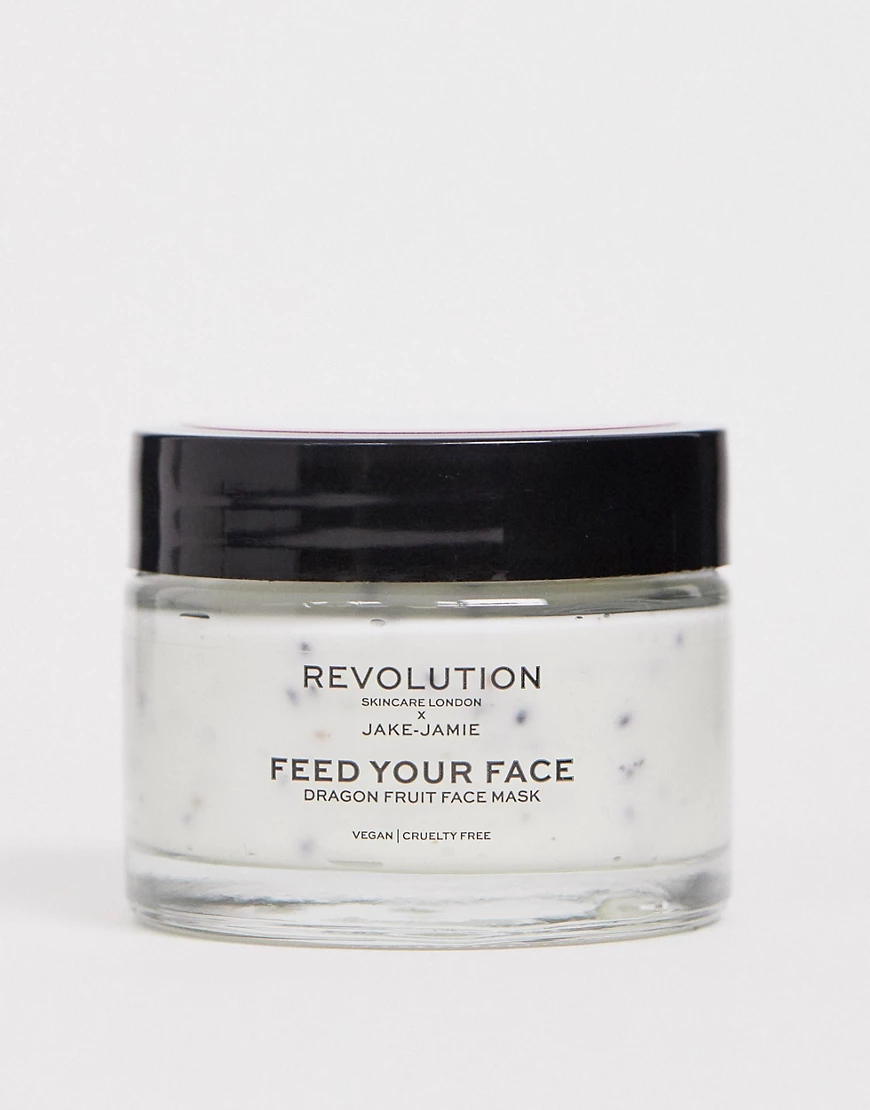 Revolution | Маска для лица с экстрактом питайи Revolution Skincare x Jake - Jаmiе-Бесцветный | Clouty