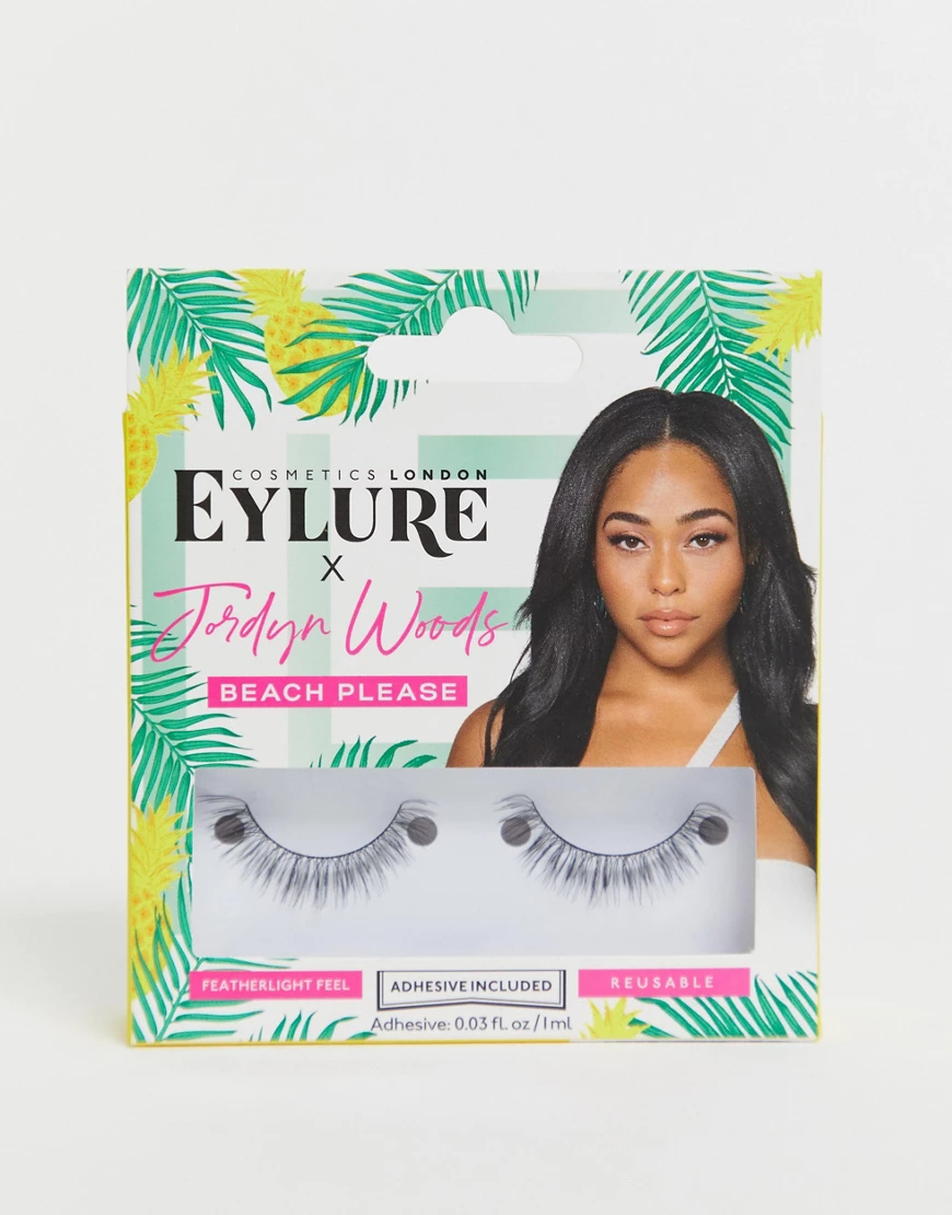 Eylure | Накладные ресницы Eylure X Jordyn Woods Beach Please-Черный | Clouty