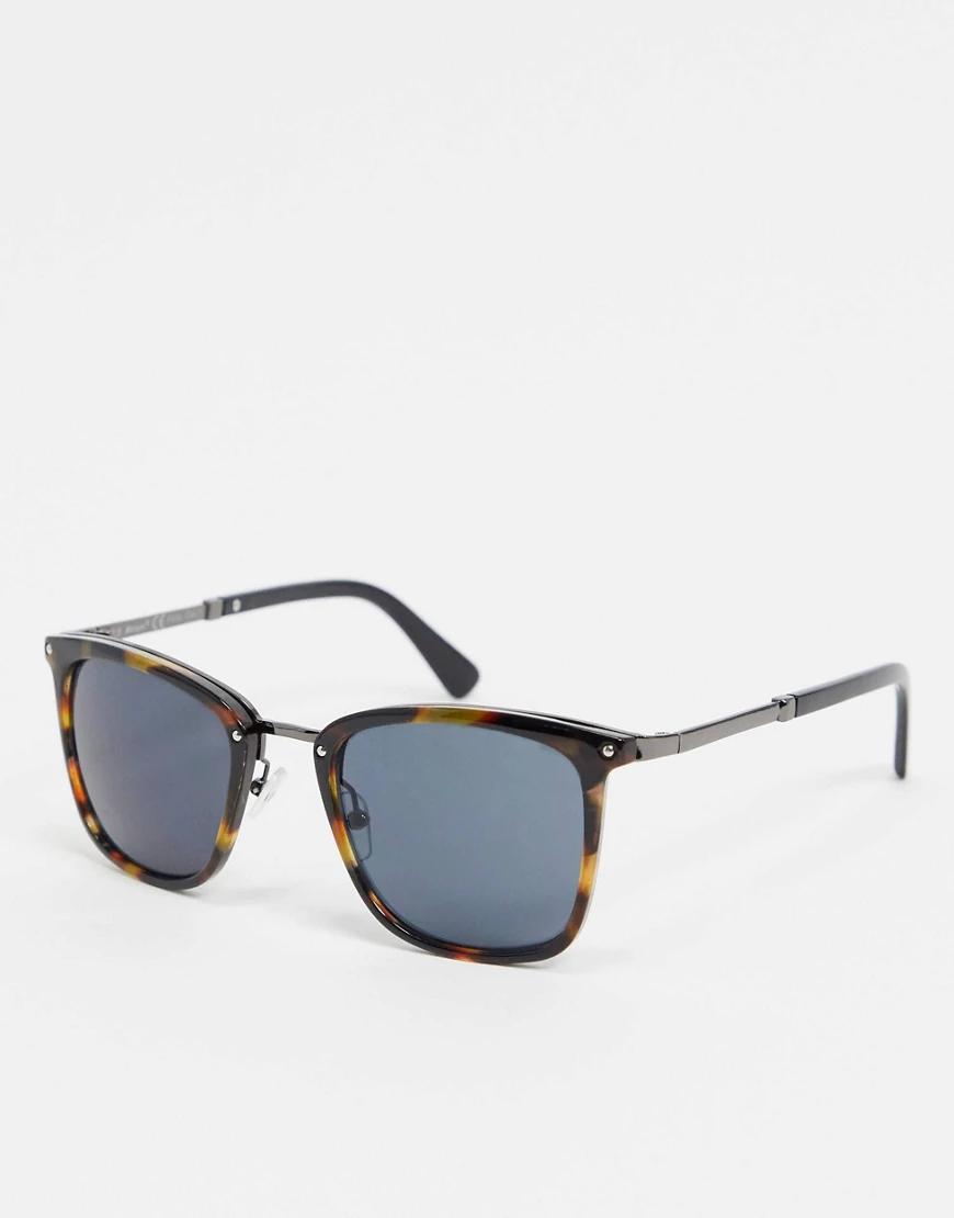 AJ Morgan | Солнцезащитные очки в черепаховой оправе AJ Моrgап-Коричневый цвет | Clouty