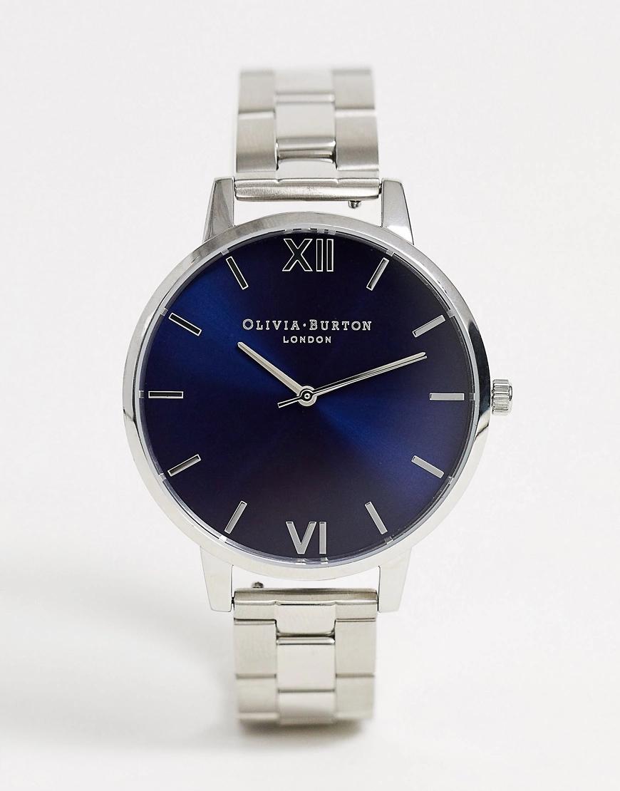 Olivia Burton | Серебристые часы-браслет Olivia Burton Shoreditch-Серебряный | Clouty